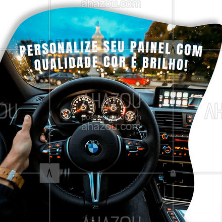 Para ter uma personalização com cor e brilho exige qualidade que só nós temos!  #AhazouAuto #automotivos #carros #limpeza #automotiva #lavajato #personalização