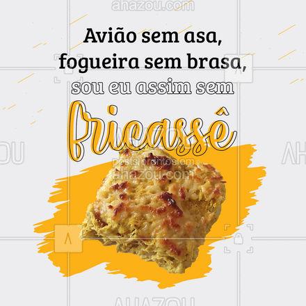 O melhor fricassê de frango você encontra aqui! ? #fricasse #frango #ahazoutaste #instafood #foodlovers #ilovefood #ahazoutaste