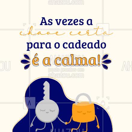 Que possamos encarar o dia com essa reflexão! ? #chaves #chaveiro #AhazouServiços #serviços #motivacional #AhazouServiços