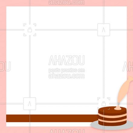 Garanta o seu bolo recheado, temos diversos sabores. ?? #ahazoutaste  #confeitaria #bolo #doces #confeitariaartesanal #cardapio #encomenda #bolosdecorados