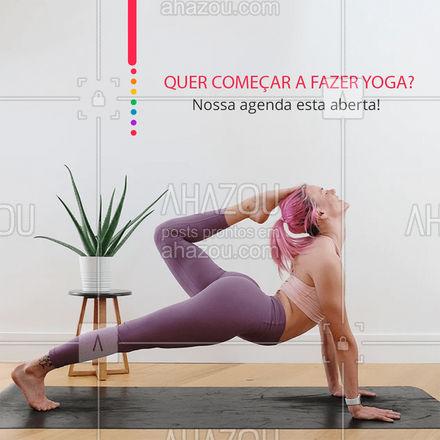 Venha já marcar o seu horário! Aproveite que nossa agenda já está aberta! #meditation #yogalife #yoga #AhazouSaude #namaste #yogainspiration #agenda #agendaaberta #horarios #AhazouSaude