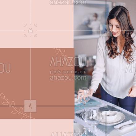 Dê um toque diferenciado nas suas refeições, encomende a sua mesa posta! #mesaposta #costureira #AhazouFashion   #costuraereparos #costura