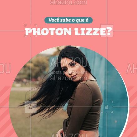 O Photon Lizze é um sistema fotônico, com coloração azul, que acelera a ação de serviços capilares profissionais, como por exemplo: escovas progressivas, definitivas, tinturas, balayagens, relaxamentos, hidratações, reconstruções e alisamentos. #AhazouBeauty #cabeloperfeito #hair #hairstylist #hidratacao #cabeleireiro #salaodebeleza #cabelo #AhazouBeauty