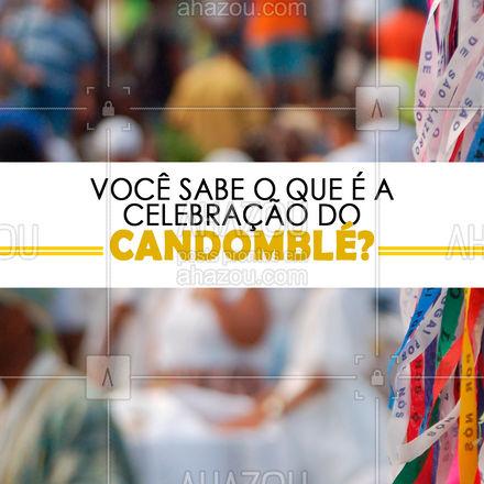 O candomblé é celebrado no mesmo dia em que se comemora também as tradições das raízes africanas. Esse dia é 30 de Setembro, também conhecido pelo dia de celebração da umbanda. ❤️ #AhazouFé #templo #terreiro #saravá #axe  #orixás #ogum #fé #laroye #aruanda #exu #religião