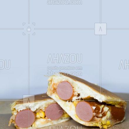 Hot dogs deliciosos e saborosos esperando por você. Ficaremos felizes em atendê-lo! ? #ahazoutaste #hotdog #hotdoglovers #hotdoggourmet #cachorroquente #food
