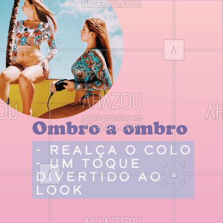 Anotou nossas dicas? Faça seu próximo dia na praia ser inesquecível e sinta-se maravilhosa.  #AhazouFashion  #lookdodia #fashionista #modafeminina #modapraia #summer