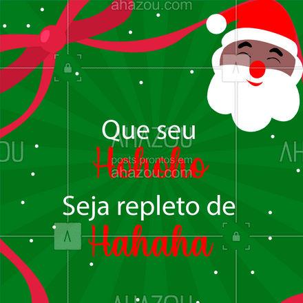 Esses são os nossos votos para o seu Natal! ??? #FelizNatal #Natal #ahznoel #ahazoutaste #gastronomia #foodlover #culinaria #ahazoutaste