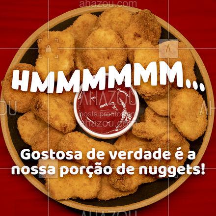 Temos nuggets deliciosos esperando por você! ??  #Nuggets #PorçãodeNuggets #ahazoutaste  #ilovefood #artesanal  #burgerlovers