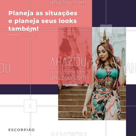 E aí escorpiano, o que você acha dessas afirmações? 🤔 Comenta aqui embaixo! 👇🏻 #escorpiao #moda #signosnamoda #AhazouFashion #signos  #outfit #style