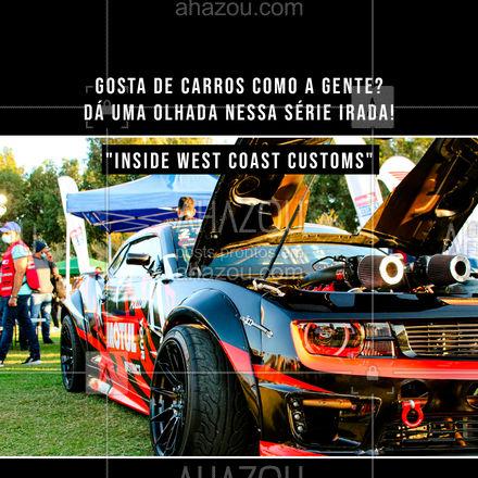 Só quem é apaixonado por carros vai gostar dessa série que é um paraíso dos supercarros!   #AhazouAuto  #instalacao #eletricadecarros #limpezadecarros #servicoautomotivo #automotivos #série #carros