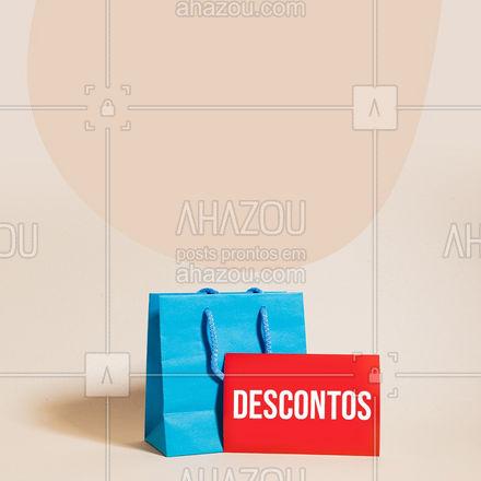 Um descontão desses, você tem que aproveitar! Vamos às compras? ? #AhazouFashion  #lookdodia #fashion #OOTD #style #moda #outfit #promoção #desconto #compras #preço #descontão #loja