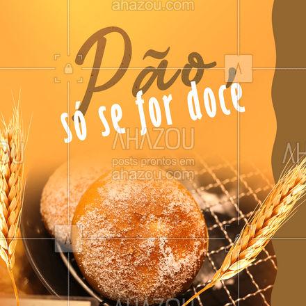Pão é bom, e doce também, mas pão doce é melhor que tudo! É a união perfeita dos dois mundos. Pão e doce, feito só para você. Já pediu o seu? #ahazoutaste #paodoce #pao #doce #padaria