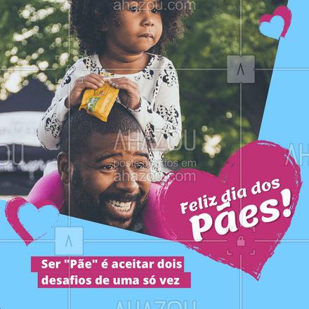 Também é ter um amor incondicional todos os dias! ❤️ #ahazou #pães #diadasmaes #comemorativa #motivacional #paiemae #amor #ahazou
