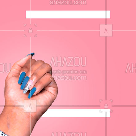 Comemore na sua esmaltaria preferida! ?? No mês das mulheres suas unhas brilham com promoção! Aproveite e agende seu horário: ?(preencher) #AhazouBeauty  #nailart #nailsaloon #manicure #unhasdehoje