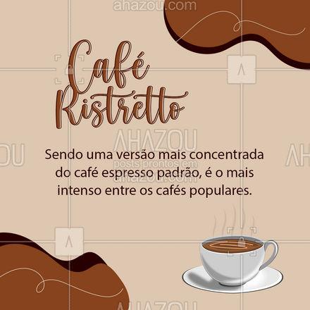 Você já conhecia todos esses tipos de café? Conta pra gente! #LoucosPorCafé #TiposdeCafé #CarrosselAhz #ahazoutaste  #coffee #barista #coffeelife