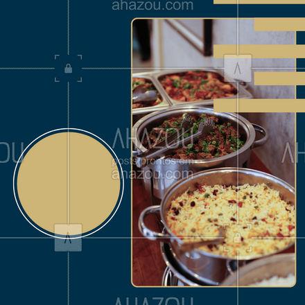 Preparamos uma promoção muito especial para você, venha aproveitar nosso self service por apenas R$_____. ? #ahazoutaste #restaurante #alacarte #foodlovers #selfservice #promocao