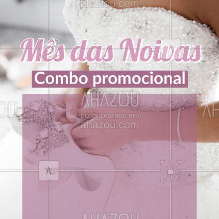Para que tudo saia perfeito no seu grande dia, nós preparamos para você um combo. Não percam! #mêsdasnoivas #convite #AhazouBeauty #editáveis #maquiagem #make