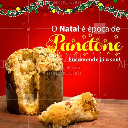 Temos deliciosos panetones saindo do forno esperando por você! ??  #Panetone #Confeitaria #ahazoutaste #Natal  #confeitariaartesanal