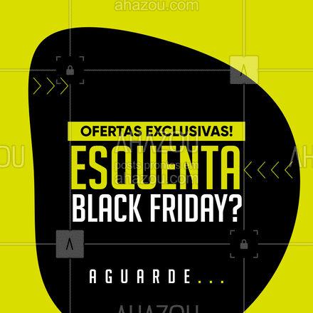 Vem ai, descontos imperdíveis no nosso esquenta Black Friday!  ? #ahazou #promoção #desconto #ofertas #blackfriday