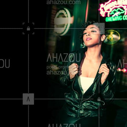Podem apagar as luzes, porque o seu estilo vai continuar brilhando. ? #editaveisahz #AhazouFashion  #lookdodia