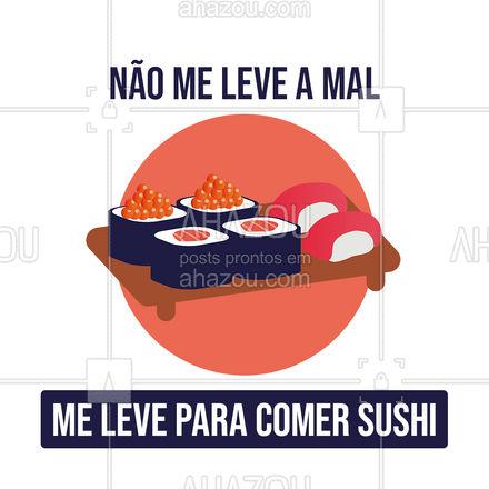 O caminho da felicidade é quando alguém te leva para comer um japa! ??#ahazoutaste  #japa #sushidelivery #sushitime #japanesefood #comidajaponesa #sushilovers #foodlovers