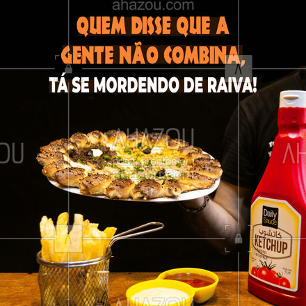 Algumas pessoas gostam de pizza com ketchup, já outras gostam de comer uma fatia junto com um bom vinho. E você, com o quê gosta de combinar a sua pizza? Conta pra gente aqui nos comentários! ??  E seja qual for a sua preferência, temos diversas opções de pizzas saborosas para você se deliciar. Então peça já a sua pizza e monte você também a sua combinação perfeita! ❤?  #pizza #deliverypizza #ketchup #ahazoutaste