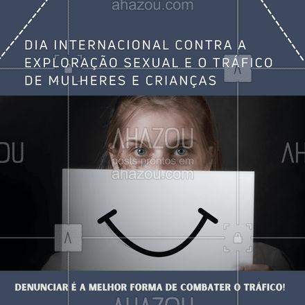 🛑Disque 100!  Ajude a combater o tráfico de pessoas.  #ahazou #traficohumano #traficodemulheres #traficodecriancas #denuncia #disque100 #Diainternacionalcontraexploraçãosexual #tráficodemulheresecrianças