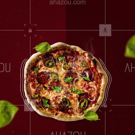 Sabe aquela sensação de que algo faltava na sua vida? Era essa pizza aqui :3 #ahazoutaste #pizzaria  #pizza  #pizzalife  #pizzalovers