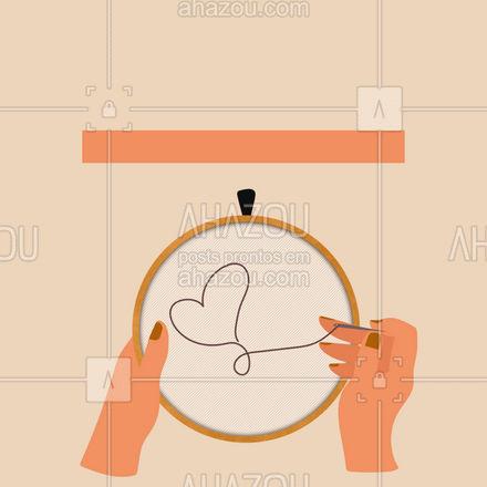 Trabalhamos com bordados sob encomenda, solicite seu orçamento agora mesmo! 🧵 #AhazouFashion #costureira #tricot #bordados #costuraereparos #fashion #costura