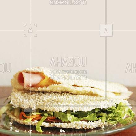 A vida é muito curta para deixar de comer beiju! ? #beiju #tapioca #ahazoutaste  #ilovefood #instafood #foodlovers