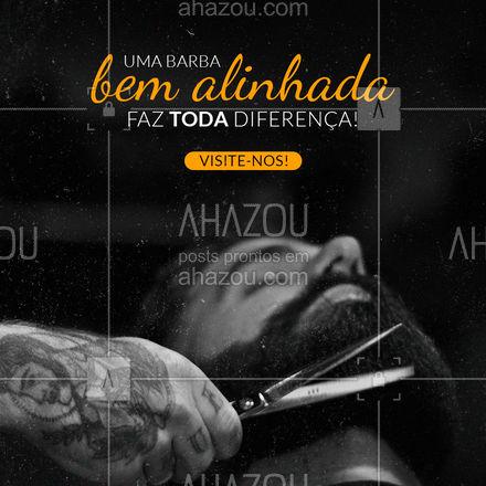 Venha nos visitar e deixar sua barba ainda mais de respeito! 😎 #AhazouBeauty #barberLife  #barbeirosbrasil  #barbeiro  #barberShop  #barbearia  #barba  #cuidadoscomabarba