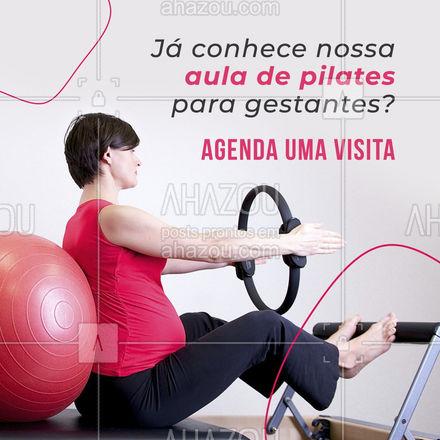 Já sabemos que o pilates é a atividade mais indicada para a gravidez, então não perca tempo e agende sua aula  Entre em contato agora mesmo e venha nos conhecer.#AhazouSaude #pilateslovers  #workout  #pilates  #fitness  #pilatesbody