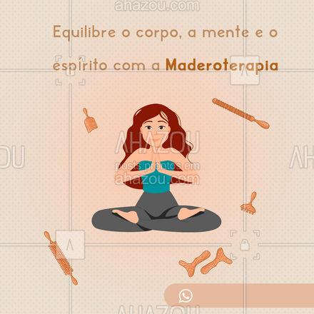Utilizada mundialmente, principalmente para fins estéticos, a Maderoterapia tem benefícios que vão muito além do corpo. Promovendo uma conexão de corpo e alma.✨ Agende uma sessão: (inserir contato)  #Maderoterapia #AhazouSaude #SaudeeBemEstar #Tratamento #Massagem