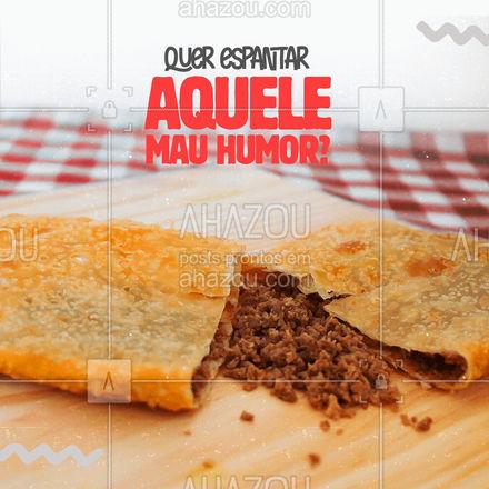 Então, venha experimentar nossos pastéis e acabe com o que está acabando com você ?. Temos sabores para todos os gostos, você não pode perder ?!  #foodlove #ahazoutaste #pastel #pastelaria #pastelrecheado #amopastel #sabores #delícia #fomedepastel