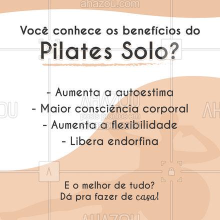 Conheça nossas aulas online de Pilates e mude a relação com seu corpo! #AhazouSaude  #pilateslovers #workout #fitness #pilates #pilatesbody