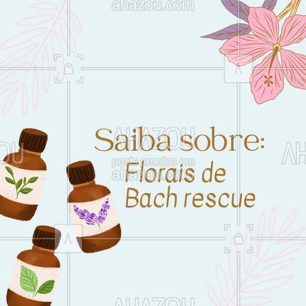 O floral de Bach rescue remedy é indicado em casos de emergência como: acidentes graves, angústia, pavor, medo ou terror. Ele traz conforto, calma e equilíbrio, mas deve ser utilizado por breve período, pois não substitui o bom senso e a responsabilidade pelo seu próprio bem-estar físico e mental.🌻 As essências utilizadas são: Rock Rose, Impatiens, Star of Bethlehem, Clematis e Cherry Plum.  #AhazouSaude #dicas #floraisdebach #saude #terapia  #vivabem  #energia  #terapiascomplementares  #bemestar #rescue