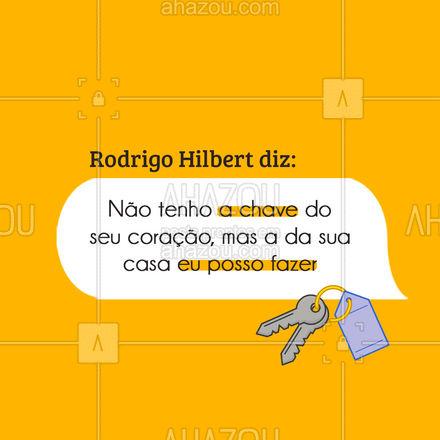 Liga que eu chego rapidinho! ? AhazouServiços #meme #engracado #rodrigohilbert #faztudo #chaveiro #chave #serviços