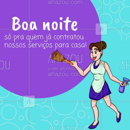 Dormir é bem melhor com a casa limpa e organizada! Entre em contato para contratar você também ? #AhazouServiços #casa #boanoite #limpeza #organizaçao #servicos  #servicosparacasa