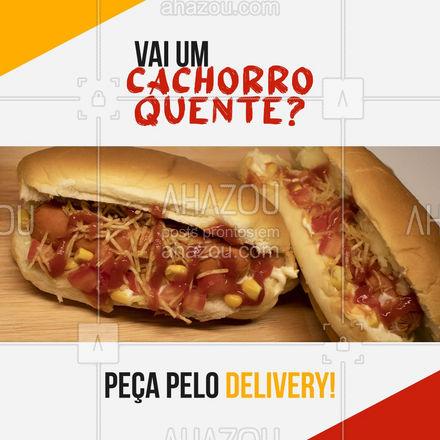 Já provou nosso hot dog? Peça pelo delivery e saboreie o melhor cachorro quente da região! #ahazoutaste #hotdog  #hotdoglovers  #hotdoggourmet  #cachorroquente  #food #pedido #delivery #entrega