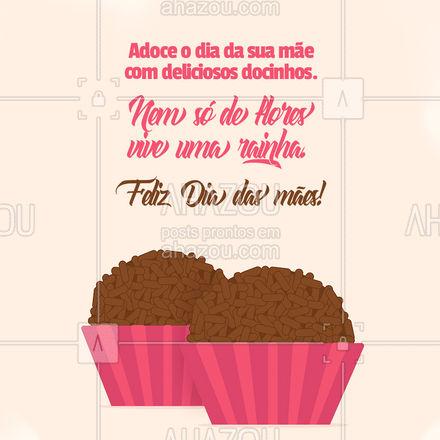 Nesse Dia das mães adoce o dia da sua rainha! Peça deliciosos docinhos! #ahazoutaste #confeitaria #bolo #doces #confeitariaartesanal #bolosdecorados #felizdiadasmães #diadasmães