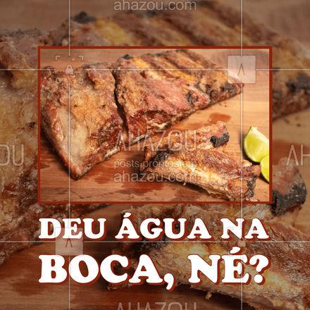 Seu churrasco vai ficar ainda mais gostoso com uma costelinha fresca e saborosa. Garanta já a sua. #churrasco #costelinha #ahazoutaste #açougue #costela #ahazoutaste