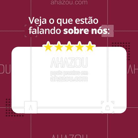 Nossa felicidade é ver que nosso trabalho está sendo bem quisto por você! Obrigado! ?? #ahazou#frasesmotivacionais #motivacionais #quote #motivacional #feedback #avaliação