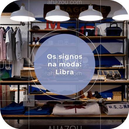 Todo mundo sabe como é difícil escolher entre uma blusinha e outra, mas quando a pessoa é de libra... A tarefa fica 3x mais difícil! ? #AhazouFashion #libra #lookdodia #fashion #OOTD #style #moda #outfit