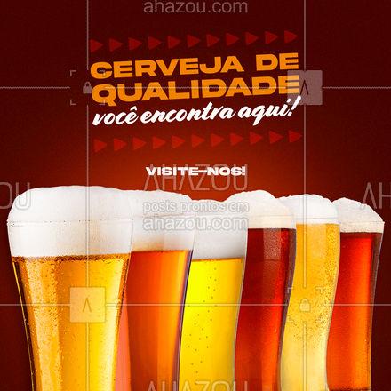 Uma cerveja bem gelada e cheia de qualidade temos a oferecer para você! Faça-nos uma visita! 🍻 #ahazoutaste #bar  #mixology  #pub  #cocktails  #lounge  #drinks