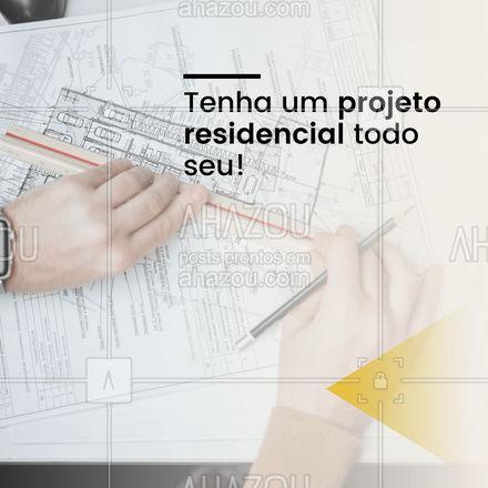 Vamos transformar o seu lar! Projeto residencial sob medida. #AhazouDecora, #AhazouArquitetura  #homedecor  #decoracao  #arquiteto  #arquitetura  orçamento  #designdeinteriores