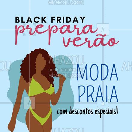 Verão chegando e nada melhor que já entrar preparada aproveitando as nossas ofertas de Black Friday!  Corre pra garantir o seu ?☀️? #AhazouFashion #blackfriday #modapraia  #praia #beach #verao #fashion