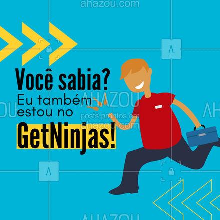Confira os meus serviços por lá também! ??? #getninjas #chave #chaveiro #AhazouServiços #serviços #serviçospracasa