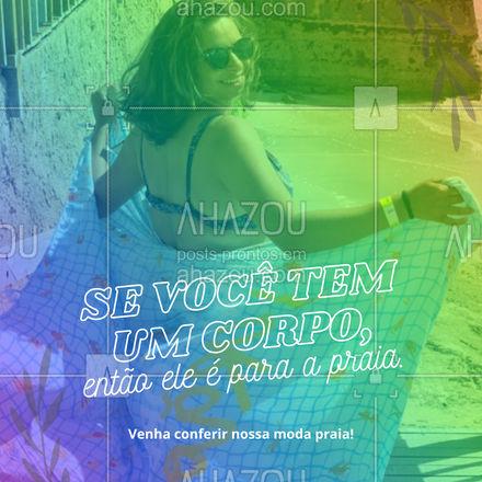 Venha conhecer nossa coleção plus size. Temos peças modernas, atuais e tendencia para você arrasar na praia! #tendencia #moda #modapraia #AhazouFashion #summer #praia #beach #verao #fashion #AhazouFashion