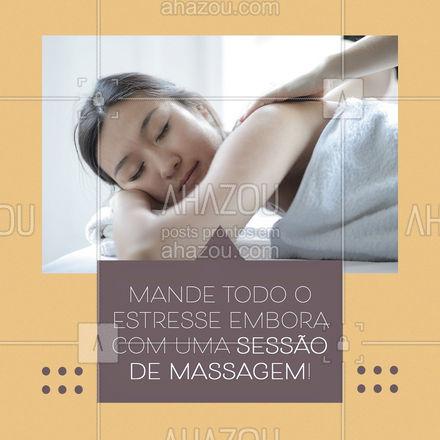 Você merece esse autocuidado, agende sua sessão! ? #massagem #estresse #AhazouSaude  #massoterapeuta #relax
