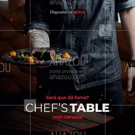 É série boa que você quer? Então toma! Chef's Table junta estrelas do mundo todo para inovar a gastronomia com pratos e sobremesas de dar água na boca! Confira, você não vai se arrepender! ?#ahazoutaste  #gastronomy #foodie #gastronomia #foodlover #culinaria #chefstable #série #indicações #comida #netflix